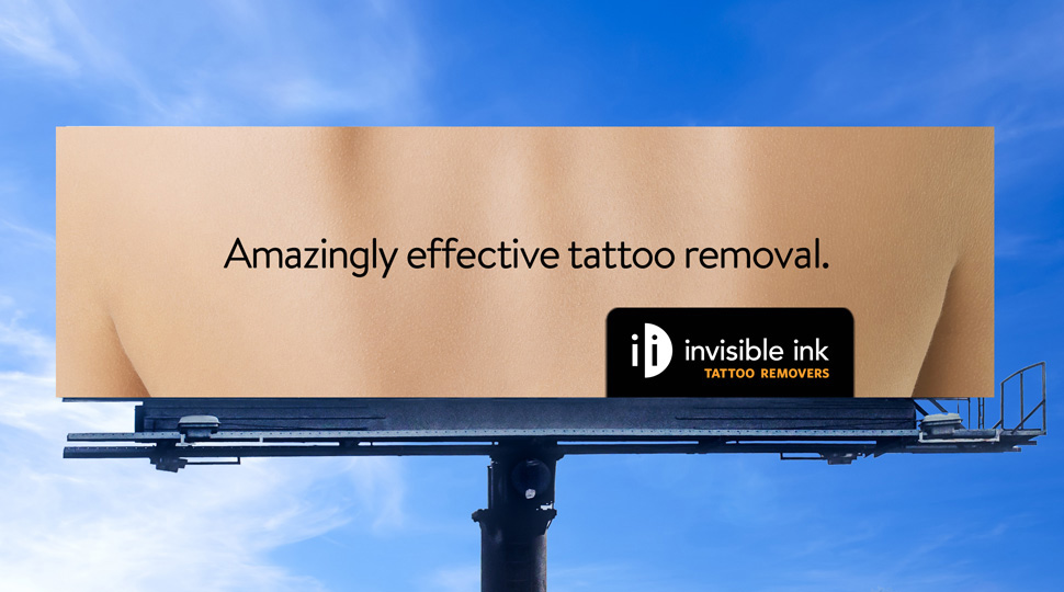 Invisible Ink Tattoo Removers Outdoor